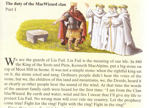 ������� ������ The duty of the MacWizard clan (Part 1)